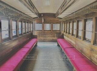 開放感のあるレトロな鉄道の写真・画像素材[4796834]
