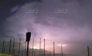 空,夜,夜空,屋外,雲,綺麗,幻想的,雷,積乱雲,稲妻,雷雲
