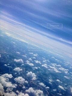 自然,空,屋外,雲,青,飛行機,窓,飛ぶ,山,空中,フライト
