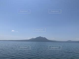 自然,風景,海,空,屋外,雲,ボート,水面,山