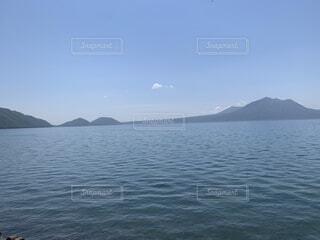 自然,風景,空,屋外,湖,雲,水面,山,旅行
