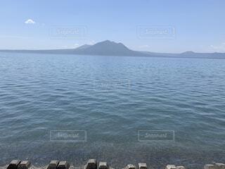 自然,風景,海,空,屋外,湖,ビーチ,雲,島,水面,海岸,山
