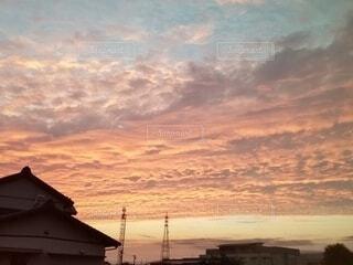 風景,空,屋外,太陽,雲,夕暮れ,日の出