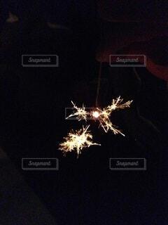 花火,暗い,明るい,景観,点灯