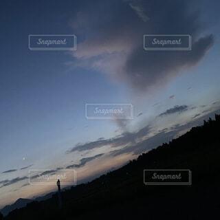 自然,空,屋外,雲,山,丘,樹木