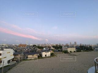 風景,空,建物,屋外,雲,旅行,展望台,住宅街