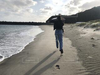 自然,風景,空,屋外,ビーチ,雲,島,人物,人,小笠原諸島,母島