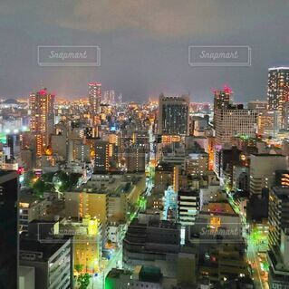 都会の夜景の写真・画像素材[4805832]