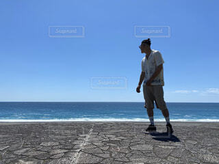 自然,風景,海,空,屋外,海岸,世界遺産,三重県,七里御浜