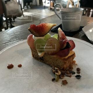 秋の味覚ケーキの写真・画像素材[4951461]