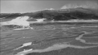 波の写真・画像素材[4794323]