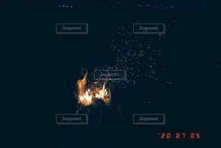 夜,花火,炎,火,景観