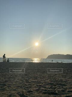 自然,海,空,屋外,湖,太陽,ビーチ,雲,水面