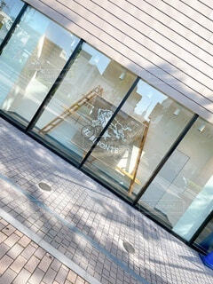 建物,窓,反射,ガラス,高層ビル,採光