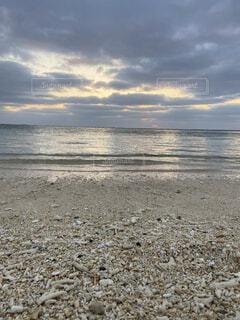 自然,風景,海,空,屋外,ビーチ,雲,水面,海岸,沖縄,地面