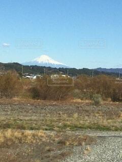 自然,空,富士山,屋外,山,雪被る