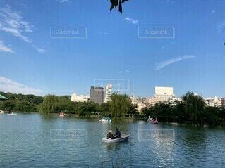 空,屋外,湖,ボート,川,水面,車両,水上バイク
