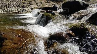 自然,屋外,川,水面,山,滝,岩,静岡,興津川