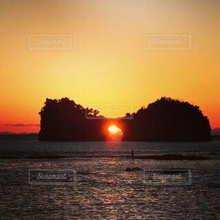 自然,風景,海,空,屋外,太陽,ビーチ,雲,夕暮れ,水面,日の出