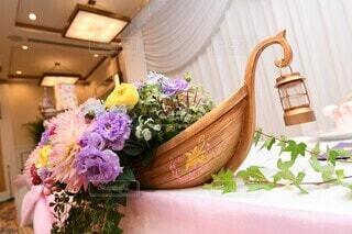 花,屋内,花瓶,バラ,結婚式,薔薇,花柄