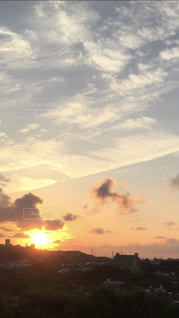朝日,沖縄,夜明け,朝焼け,日の出,ポジティブ,希望,サンライズ