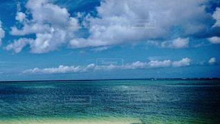 海,空,夏,南国,水面,沖縄,エメラルドグリーン,ポジティブ,希望,コバルトブルー