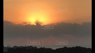 空,太陽,夜明け,朝焼け,ポジティブ,希望,サンライズ