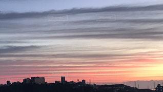 風景,朝日,沖縄,朝焼け,日の出,ダイナミック,秋空,希望,サンライズ