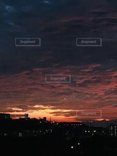 夜明けの写真・画像素材[1687509]