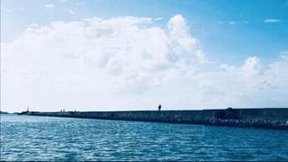 堤防散歩の写真・画像素材[1690720]
