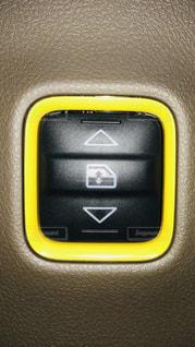 車,黄色,車内,スイッチ,taxi,パワーウインド
