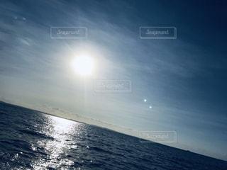 海,空,太陽,朝日,光