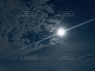 月光の写真・画像素材[3926291]