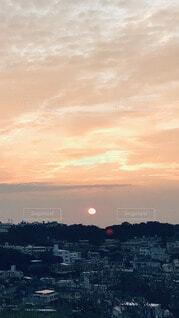 自然,空,太陽,朝日,雲,日の出