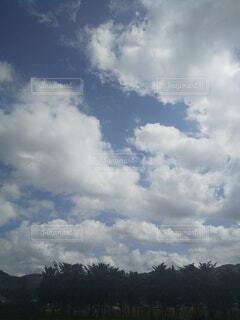 空は水色の写真・画像素材[4847187]