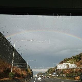 自然,虹,ミラー