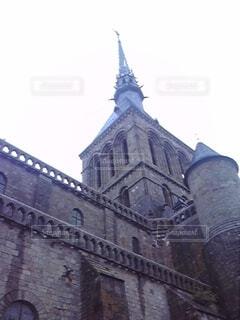 空,建物,屋外,城,タワー,古い,フランス,大聖堂