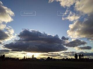 風景,空,屋外,雲,樹木,くもり,日中