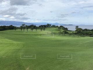 空,スポーツ,屋外,景色,草,ゴルフ,ゴルフ コース,スピード ゴルフ