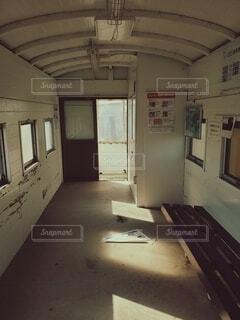 建物,屋内,駅,部屋,窓,家,床,壁,ドア,天井,廃線,廃屋,崩壊,放棄,探査