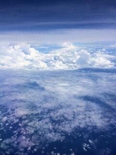 空,雲,飛行機,フライト