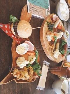 食べ物,食事,フード,野菜,木目,ファストフード,大皿,飲食
