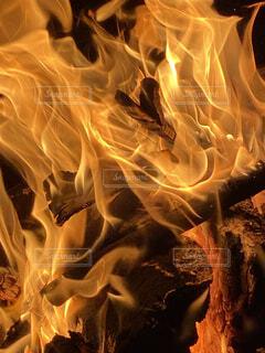 自然,キャンプ,炎,焚き火