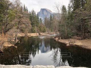 自然,風景,空,屋外,湖,川,水面,山,反射,樹木