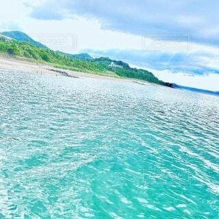 自然,海,空,屋外,湖,ビーチ,雲,島,水面,山