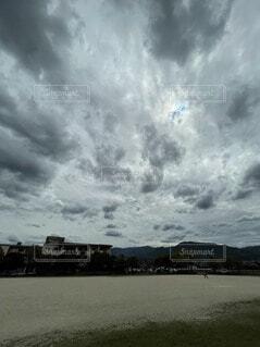 自然,風景,空,屋外,湖,雲,水面,くもり