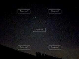 空,暗い,星,月,天文学