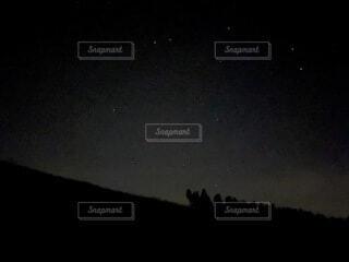 自然,空,屋外,暗い,星,月,天文学