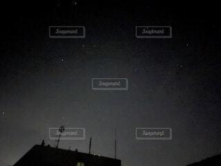空,屋外,星,月,天文学