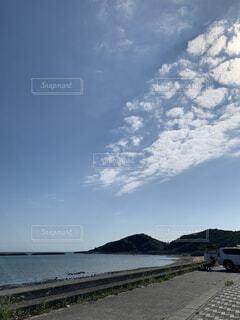 自然,風景,海,空,ビーチ,雲